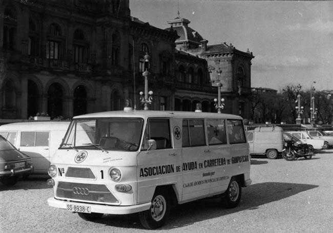 Primera ambulancia Dya