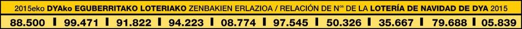 números lotería 2015