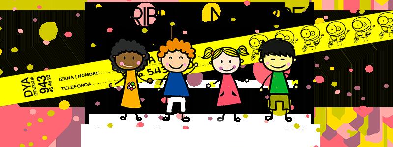 Pulseras identificativas para niños/as: Consíguelas GRATIS durante la Semana Grande